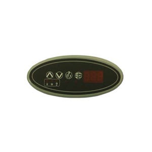 ECO-1 Electronic Keypad 4-Button, LED, Pump1-Light-Up-Down