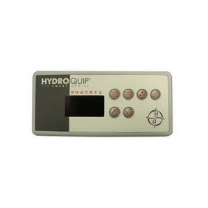 ECO-3 Electronic Keypad 6-Button, LED, Pump1-Pump2-Blower/Aux-Light-Up-Down