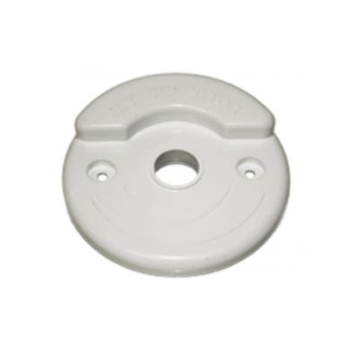 "Plumbing Caps/Lids Diverter, 2"", White"