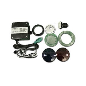 Light kit For 500/700 Unit, Includes, Button, Tubing, Wall Fitting & Lenses