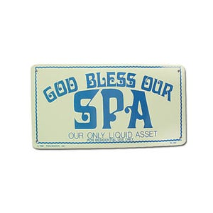Backyard Accessories God Bless Our Spa