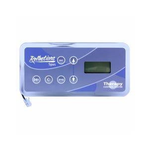 R200 Electronic Keypad 6-Button, LCD, Blower-Up, Pump1/Pump2-Light-Prog-Down