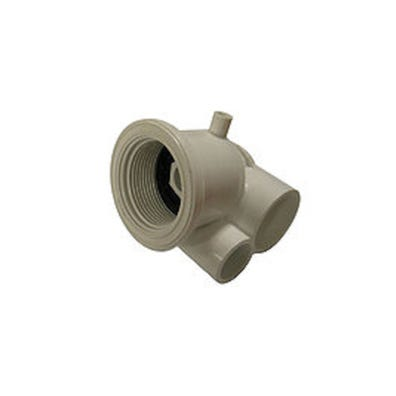 """Jet Body Self Drain,1/2""""S Air x 1""""S Water Stacked,1-5/8""""Hole Size"""