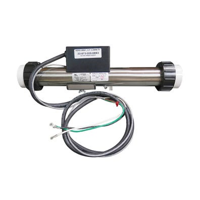 "Heater Assembly 5.5kW, 230V, 2"" x 15""Long, 60"" 12/3 Cord, 72""Pressure Switch Cord"