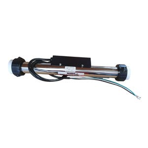 """Heater Assembly 7.2Kw 240V 19.25"""" Flow Thru With Power Cord, Titanium Element"""