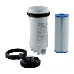 "Top Load Filter 25 Sq Ft,1.5""S,w/Plug"