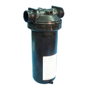 "In-Line Filter In-Line, 50 Sq Ft, 1-1/2""MBT w/ By-Pass valve, w/ Cartridge"