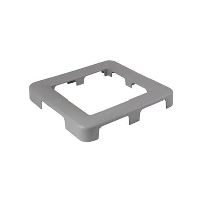 Front Access Filter Trim Plate Front Access, Plastic,Gray