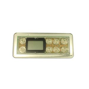 VL801D Electronic Keypad 8-Button, LCD, No Overlay