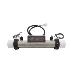 """Heater Assembly 1.0kW, 115V, 1-1/2"""" x 10""""Long, w/(2) Sensors & 2"""" Tailpieces"""