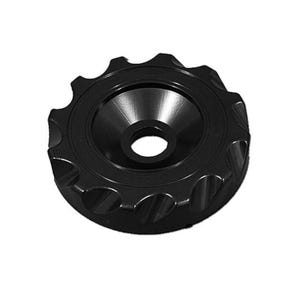 "Plumbing Caps/Lids Diverter, 2"", Black"