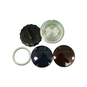 "Lens kit Front Access, 3-1/2""Face, 2-5/8""Hole"