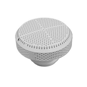 "Super Hi-Flo suction assemblies 5""Dia Cover, 2""S Deep Socket, White"