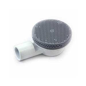 "Drains & Bleeders 3/4""S(Floor)90 Deg Ell,Gray"