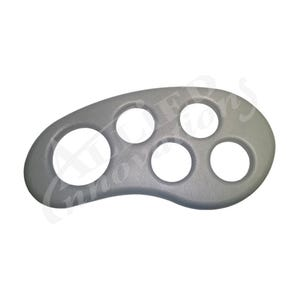 Spa Tray Hard Plastic, Gray