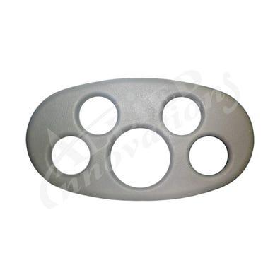 Spa Tray Hard Plastic, Gray