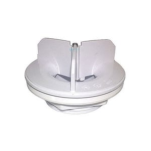 Wall Fitting Main Drain, White