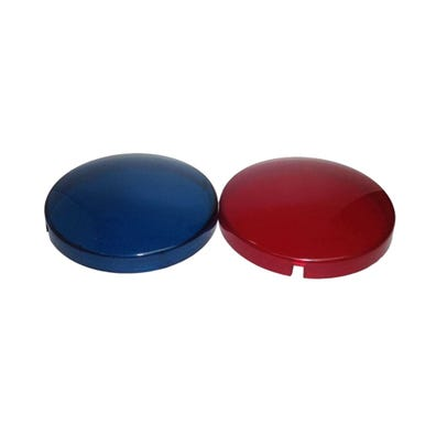 Colored Lenses Lens Set, Blue & Red