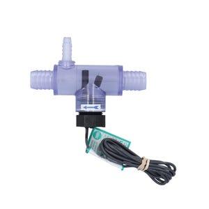 """Flow Switch w/ Transparent """"T"""" 3/8 Barb, 2-3 Pump"""