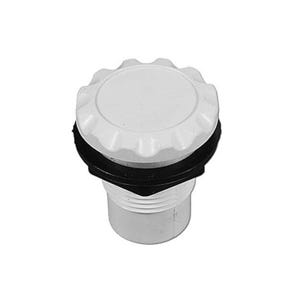 "Air Control Complete Straight Nut Scallop, 1/2"",White"