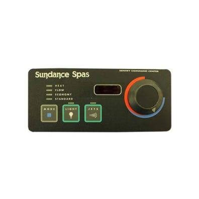 Electronic Keypad 3-Button, LED, Mode-Light-Jets-Knob