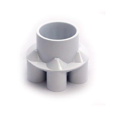"Plumbing Manifold 2""S x (6) 3/4""S Ports"