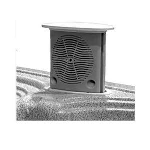 "Coaxial speaker Color: Gray, Size: 5-1/4"", Wattage: 75W"