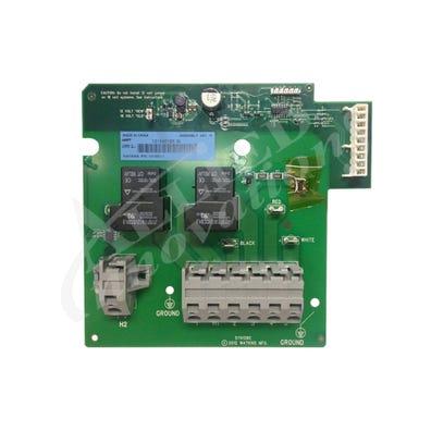 IQ2020 Circuit Board Heater Relay Board, 2 Relays, 2001-2009