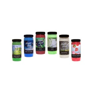 Aroma Cocktail Crystals Crystals, Case of 6, Assorted 19oz Jars