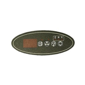 ECO Series Keypad Overlay 4-Button, ECO-2, for 34-0200
