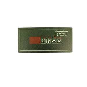 ECO Series Keypad Overlay 4-Button, ECO-5, For 34-0207