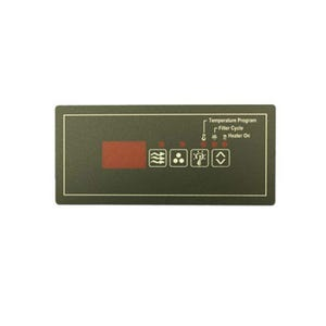 ECO Series Keypad Overlay 4-Button, ECO-6, For 34-0208