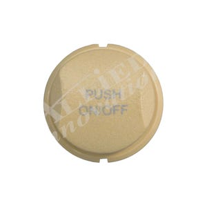 Air Actuated Button On/Off Air Actuator Button, Tan