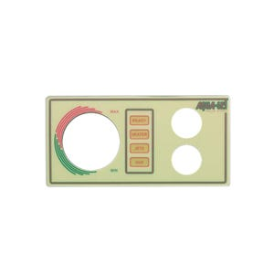 Aquaset Keypad Overlay 2-Button, No Display, For 930630-516 & 930726-516