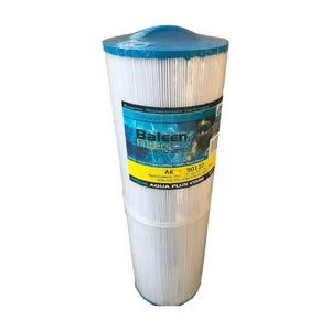 "Filter Cartridge Diameter: 5-3/16"", Length: 16"" , Top: Handle, Bottom: 2"" MPT, 75 sq ft"