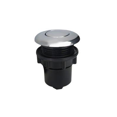 Air Button Chrome, flush mount