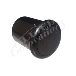 Air Button Black, raised mount