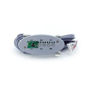 TSC-3 Electronic Keypad 4-Button, No Readout, Pump1-Pump2-Blower-Light, 10' Cable, w/8 Pin JST Plug