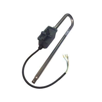 """Heater Assembly 4.0kW, 230V, 17-3/4""""Long, w/46-1/2"""" Pressure Switch Cord"""