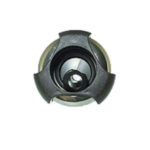 "Jet internal Rotating, 3-3/8"" Face, Tri-Lever, Black/Stainless Steel"