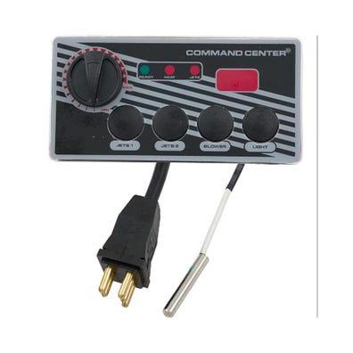 Pneumatic Keypad 240V, 4 Button w/Temp Display