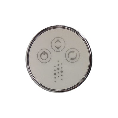 Bath Keypad 3-Button, For Variable Bath Pump, Chrome