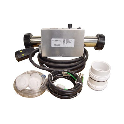 Air System Complete 115V, 1.0kW, Pump1 (115V), Blower (115V), Light (115V Hot), Less Time Clock, w/ Molded (J&J Style) Pump1 & Blower Cords & 15A GFI Cord