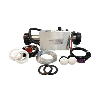 Air System Complete 230V, 4.5kW, Pump1 (115V), Blower (115V), Light (115V HOT), Less Time Clock, w/ Molded (J&J Style) Cords