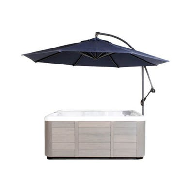 Umbrella Spa Side, w/Base, Navy