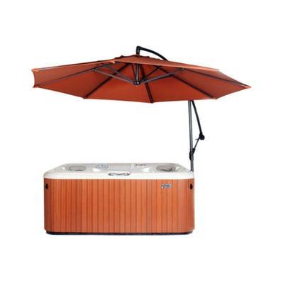 Umbrella Spa Side, w/Base, Rust