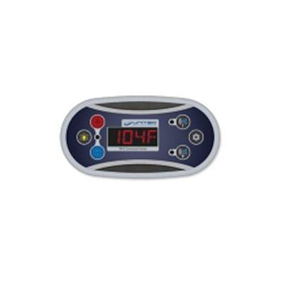 T8 Electronic Keypad 6-Button, LED, Up-Pump1, Light-Aux, Down-Pump2
