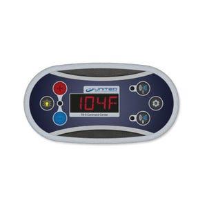 Keypad Overlay 6-Button, T8 Series