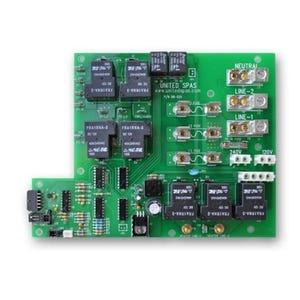 B7/B8 Circuit Board Circuit Board, United Spa, B8 Series w/10 Pin Molex Plug