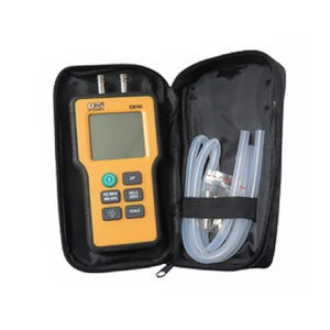 Manometer Dual Input, EM152, Electronic w/Carrying Case
